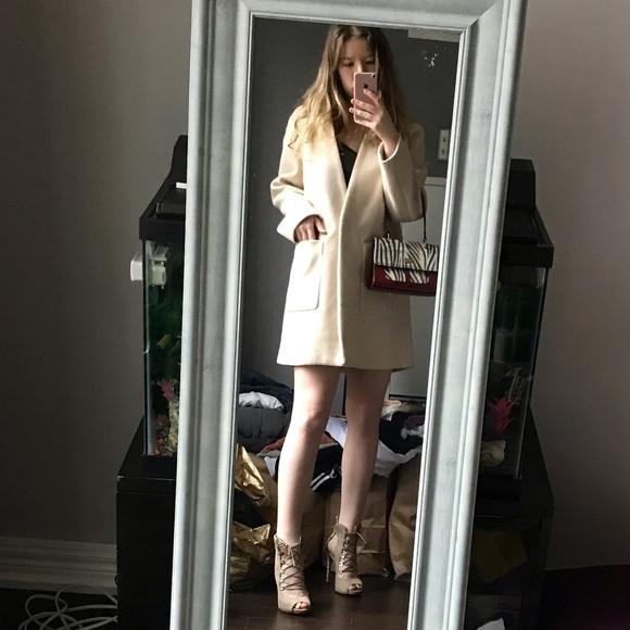 Zara outerwear boxy coat